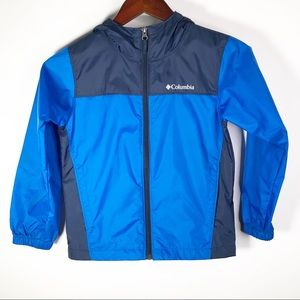 Columbia Boy's Blue Lightweight Jacket Small